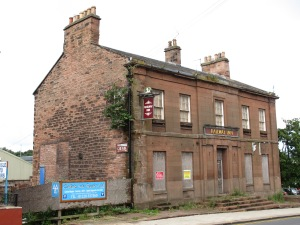 The Railway Inn on London Road, opposite Carlisle's first railway station.